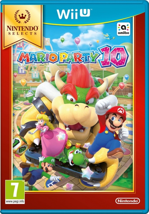 NINTENDO - WiiU Mario Party 10 Select