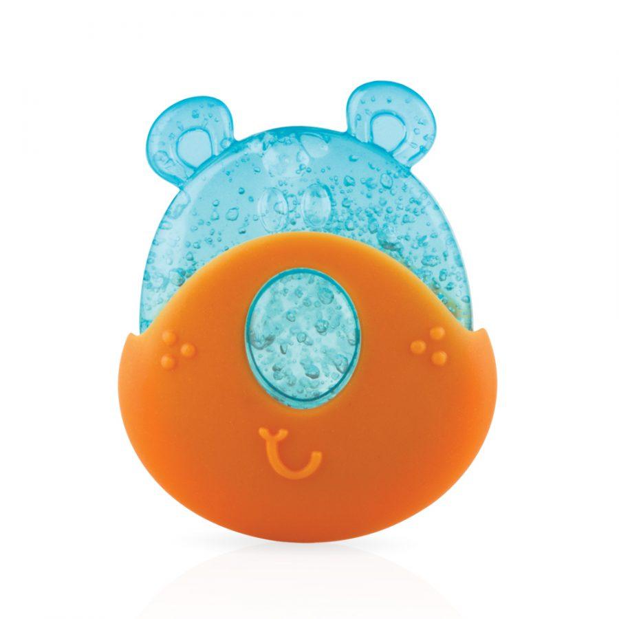NUBY - Kousátko chladivé s gelem medvěd 2v1, 3m +