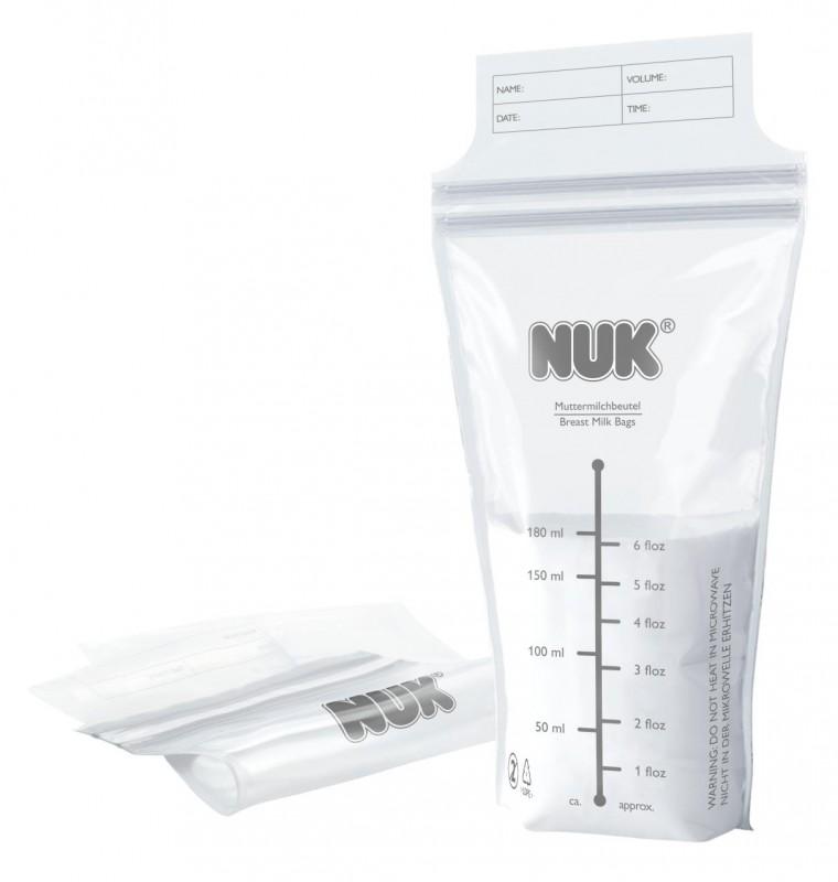 NUK - Sáčky na mateřské mléko 25 ks