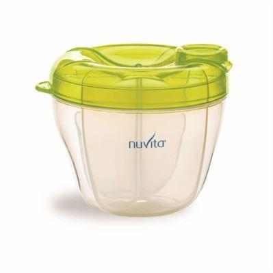 NUVITA - Nádoba na sušené mléko - zelená