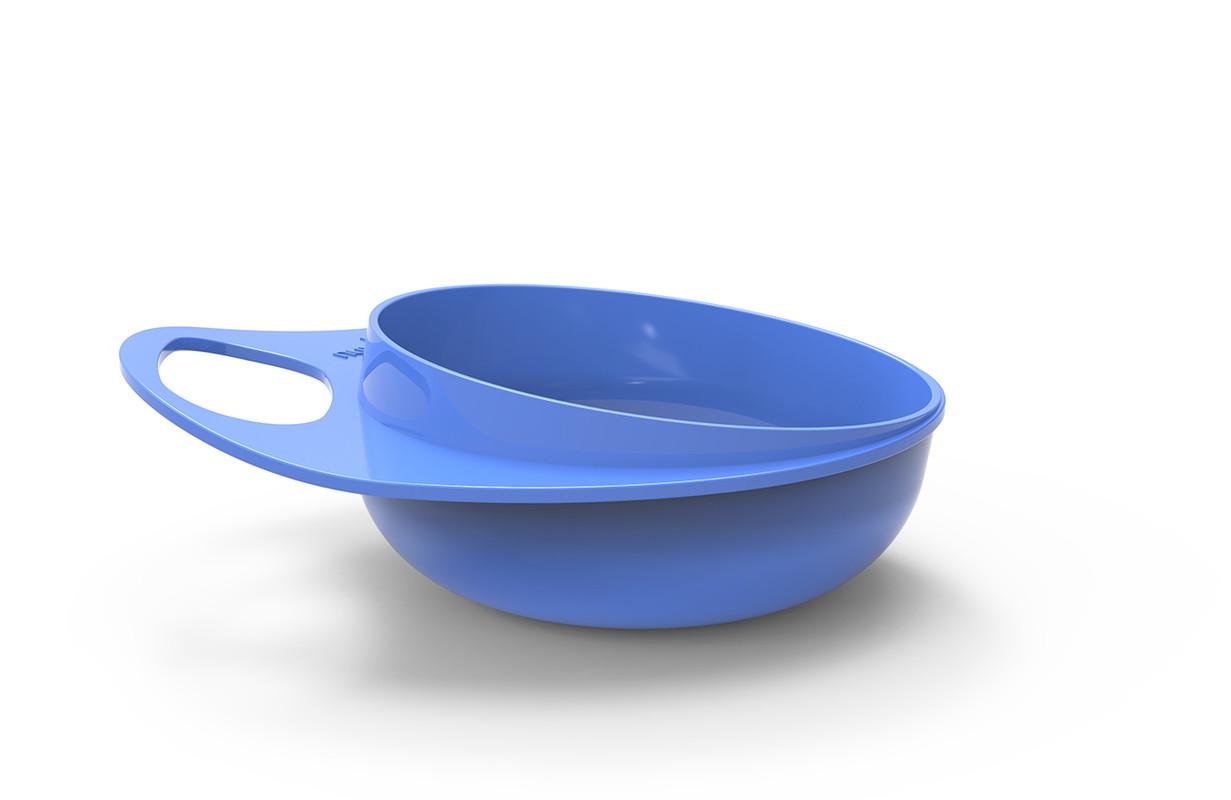 NUVITA - Plastové misky 2ks, modrá