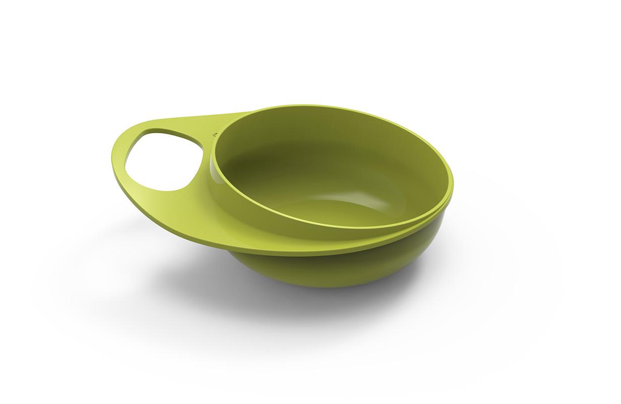 NUVITA - Plastové misky 2ks, zelená