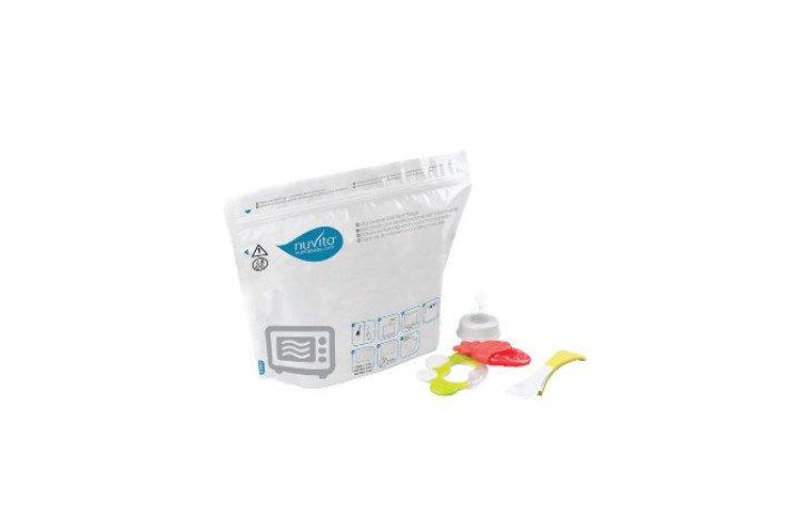 NUVITA - Sterilizační sáčky do mikrovlnné trouby