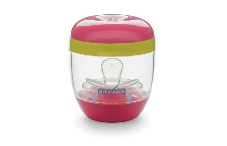 NUVITA - UV Sterilizátor - růžová / zelená