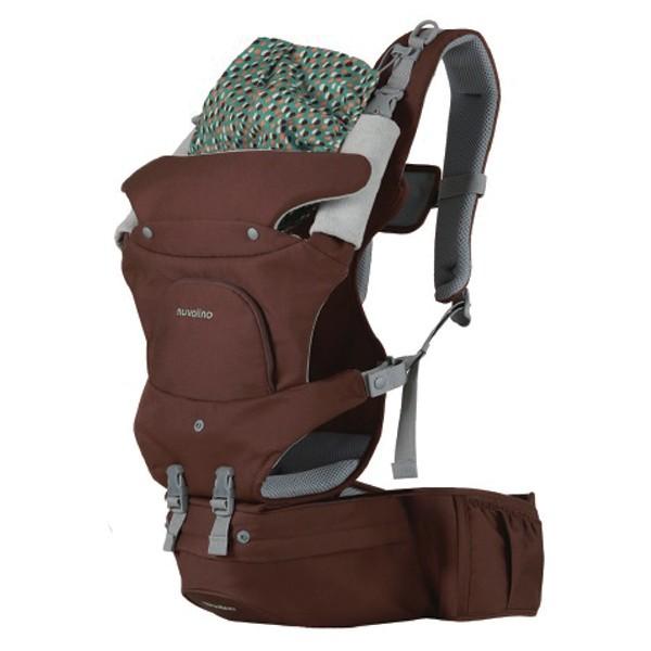 Nuvolino - Nosič pro dítě Active Hipseat, 2015, hnědý
