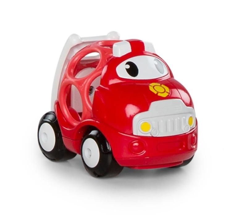 OBALL - Hračka autíčko hasičské Sam Oball Go Grippers 18m+