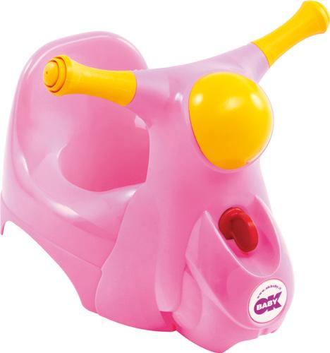 OK BABY - Nočník Scooter ružová 66