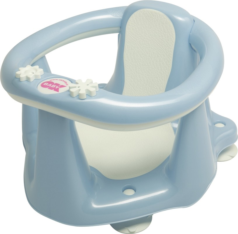 OK BABY - Sedátko do vany Flipper Evolution světle modré 55