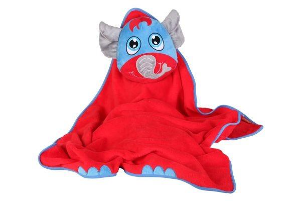 Okiedog - Dětská cestovní deka s polštářkem - Slon