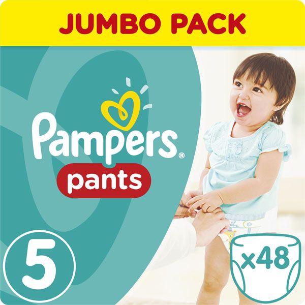 PAMPERS - Kalhotky plenkové ActivePants 5 JUNIOR 12-18kg 48ks