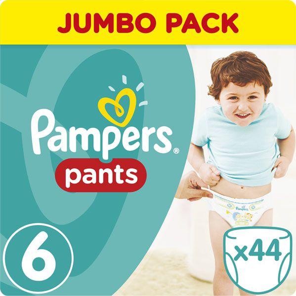PAMPERS - Kalhotky plenkové ActivePants 6 EXTRA LARGE 16 + kg 44ks