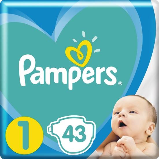 PAMPERS - Plenky New Baby-Dry 1 NEWBORN 2-5kg 43ks