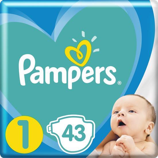 PAMPERS - Plienky New Baby-Dry 1 NEWBORN 2-5kg 43ks