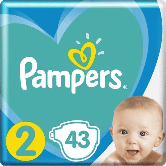 PAMPERS - Plenky New Baby-Dry 2 MINI 4-8kg 43ks