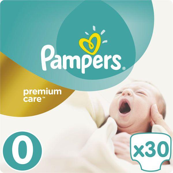 PAMPERS - Plenky Premium Care 0 NEWBORN do 2,5kg 30ks