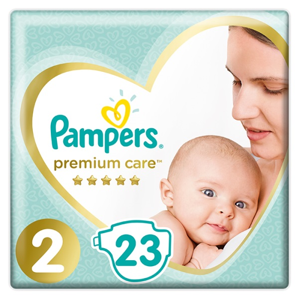 PAMPERS - Plenky Premium Care 2 MINI 3-6kg 23 ks