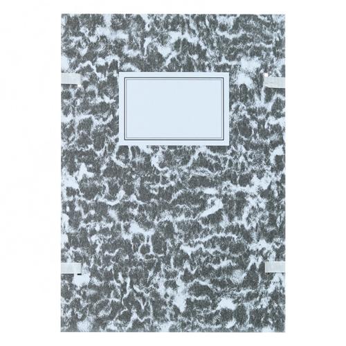 PAPIERNIK - Deska spisová A4 se šňůrkou černá mramor