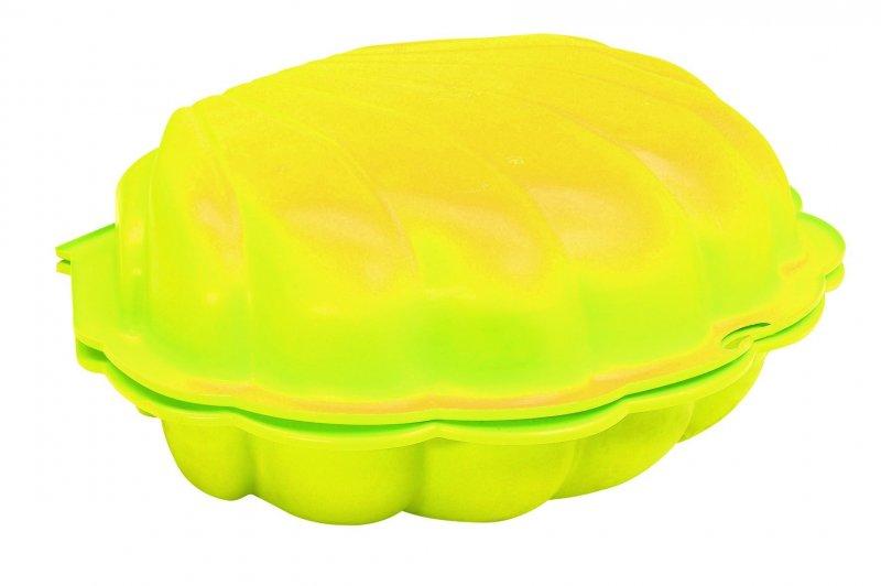 PARADISO - Pískoviště - bazén Mušle s krytem žlutá