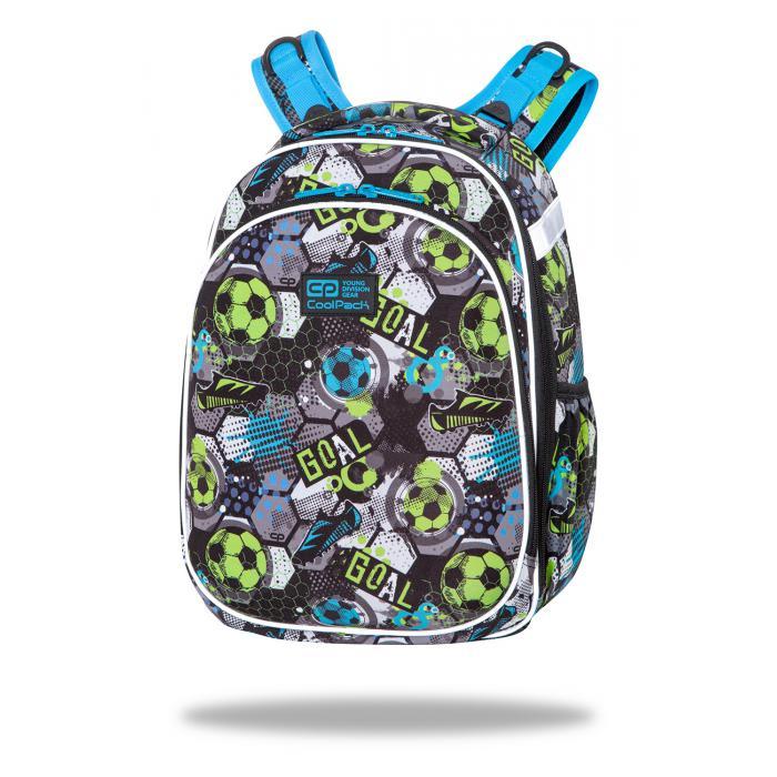 PATIO - Školní batoh CoolPack Turtle - Football