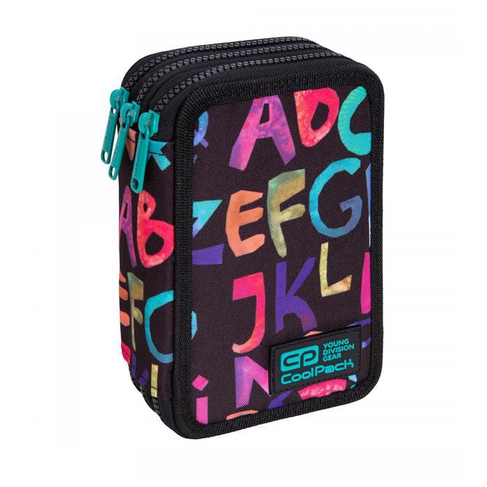 PATIO - Školní penál CoolPack Jumper 3 - Alphabet