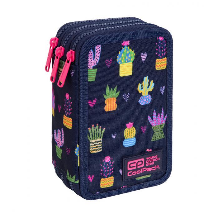 PATIO - Školní penál CoolPack Jumper 3 - Cactus