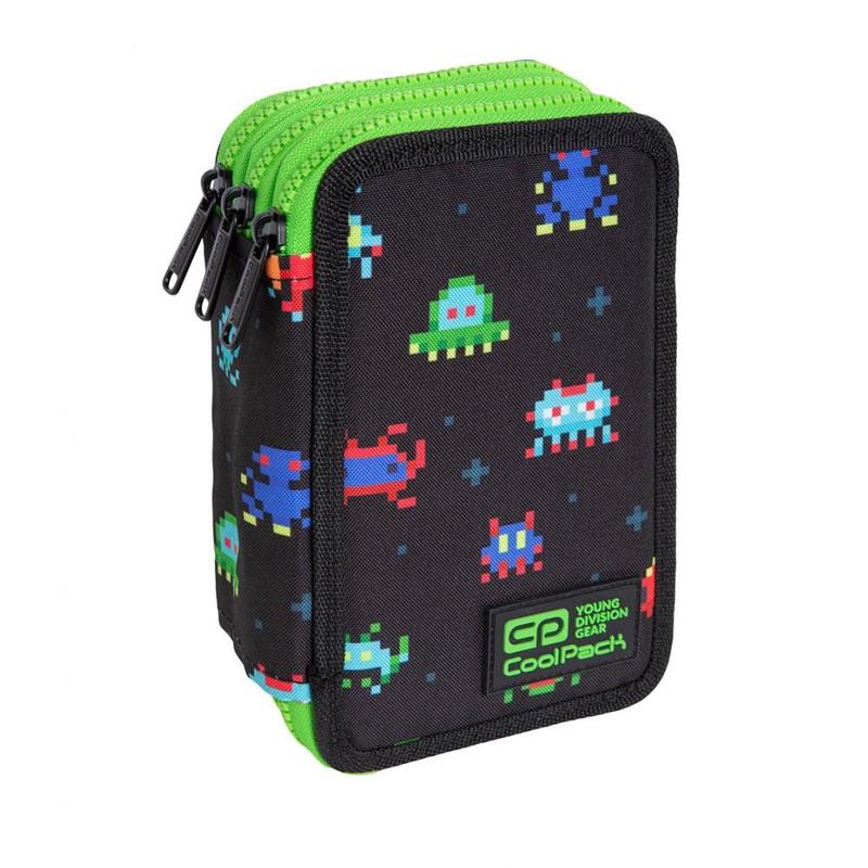 PATIO - Školní penál CoolPack Jumper 3 - Pixels