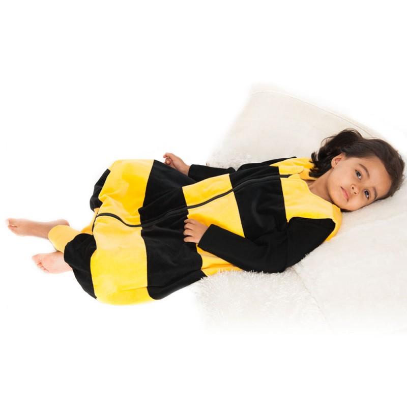 PENGUINBAG - Dětský spací pytel včelka, velikost S (74-96 cm), 2,5 tog Penguin