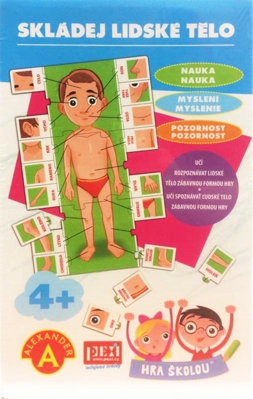 PEXI - Naučná hra - Lidské tělo