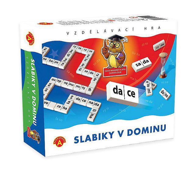 PEXI - Slabiky v dominu
