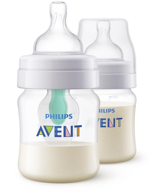 PHILIPS AVENT - Láhev Anti-colic 125 ml s ventilem AirFree, 2 ks