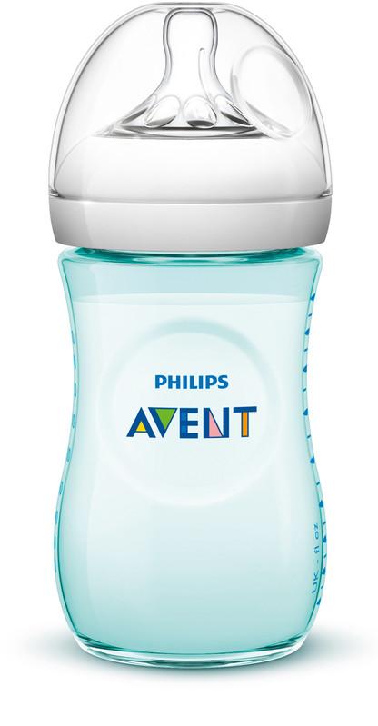 PHILIPS AVENT - Láhev Natural 260 ml zelená, 1 ks