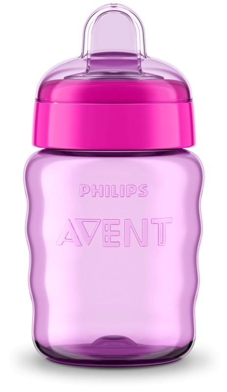 PHILIPS AVENT - Hrneček pro první doušky Classic 260 ml dívka