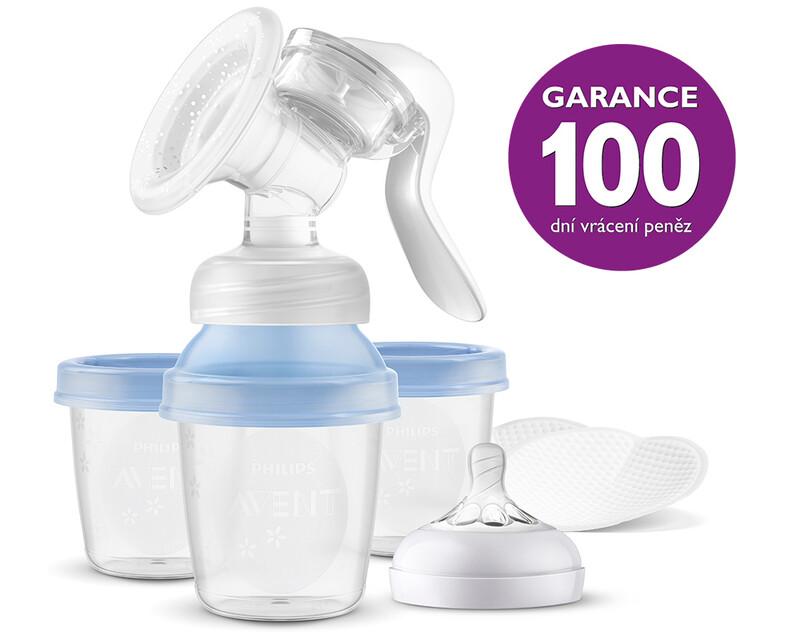 PHILIPS AVENT - Odsávačka mateřského mléka manuální s VIA systémem