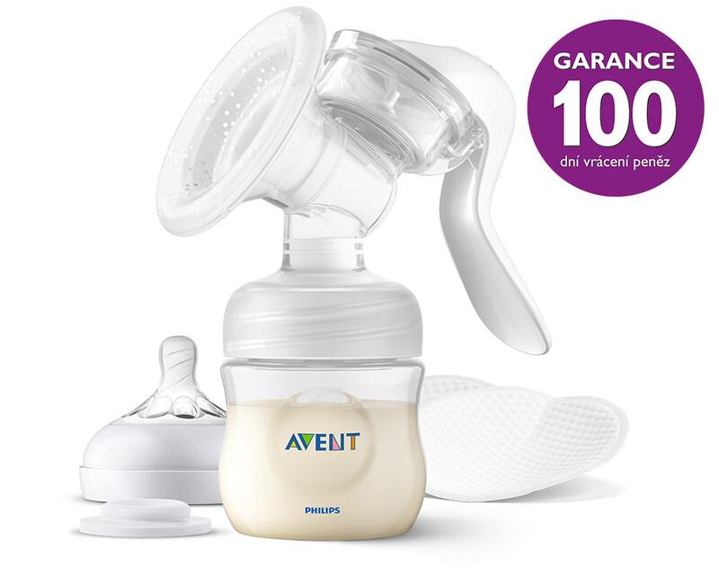 PHILIPS AVENT - Odsávačka mateřského mléka manuální