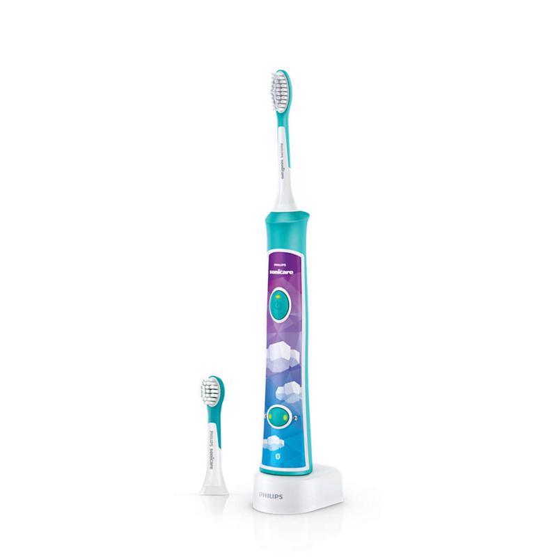 PHILIPS AVENT - Zubní kartáček elektrický dětský Sonicare zelený