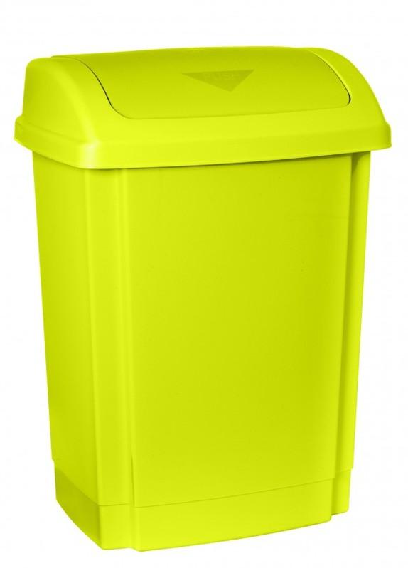 PLAST TEAM - Plastový koš na smetí 25 l - zelený