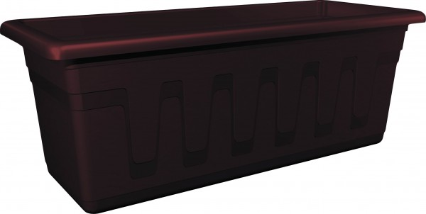 PLASTKON - Truhlík GARDEN 50 cm hnědý