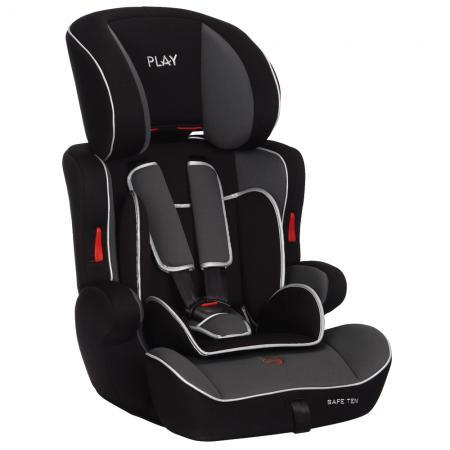 PLAY - Autosedačka Safe Ten 9-36 kg - Grey / balck 2015