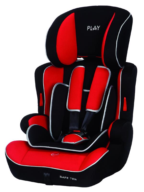 PLAY - Autosedačka Safe Ten 9-36 kg - Red / black, 2015