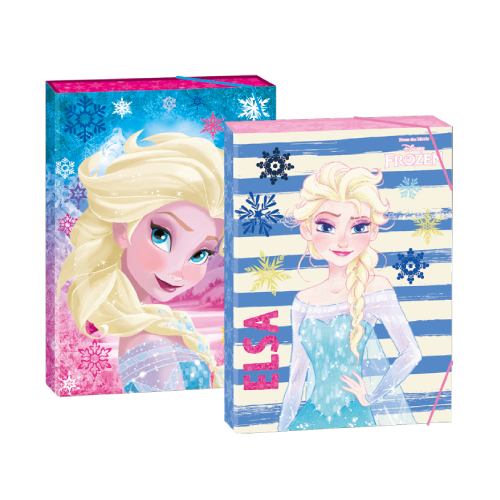PLAY BAG - Box na sešity A4 4 cm Frozen mix