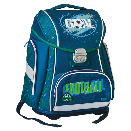 PLAY BAG - Školní batoh Logic Play, Football Goal