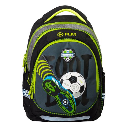 PLAY BAG - Školní batoh Maxx Play, Football Champions
