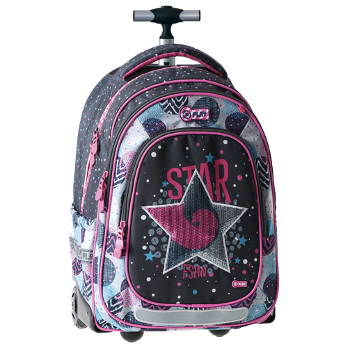 PLAY BAG - Školní batoh na kolečkách Trolley Play, Magic