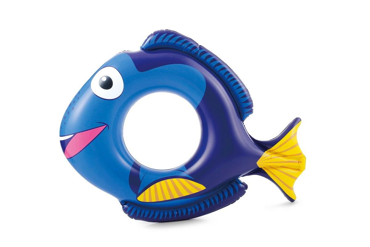 POLYGROUP - Plavací kruh ryba 76x58cm