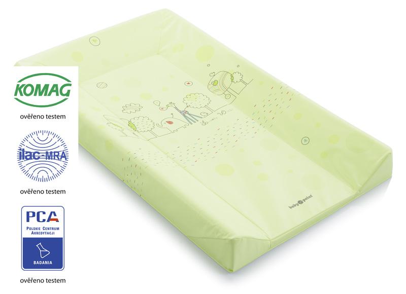 BABYPOINT - Přebalovací podložka A3 - zelená