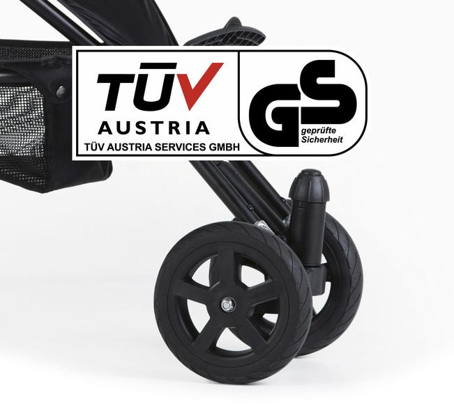 TFK - Přední dvoukolo Joggster Sport Swivel wheel T-008-DR