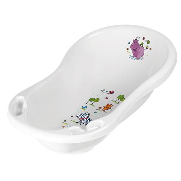 PRIMA BABY - Dětská vanička Hippo 84 cm, bílá