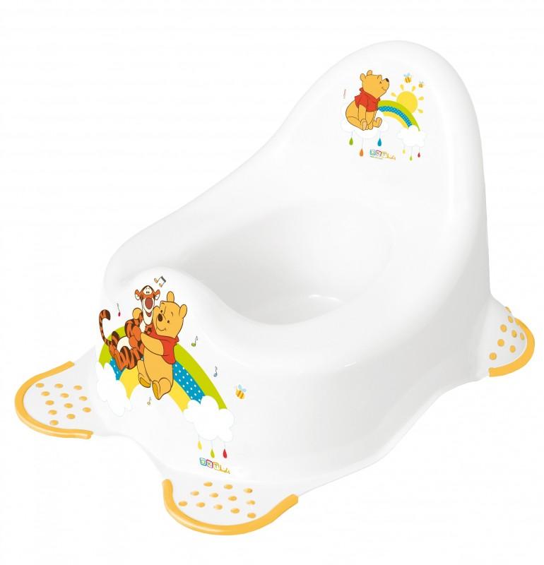 PRIMA BABY - Dětský nočník 2K hudební Winnie Pooh - Bílý