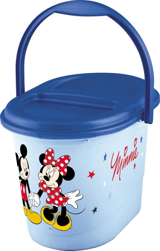 PRIMA BABY - Koš na pleny Mickey & Minnie - modrá
