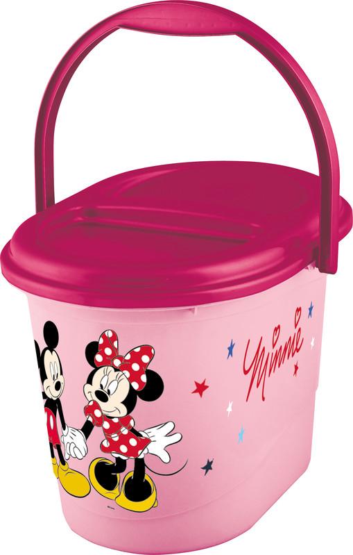 PRIMA BABY - Koš na pleny Mickey & Minnie - růžová